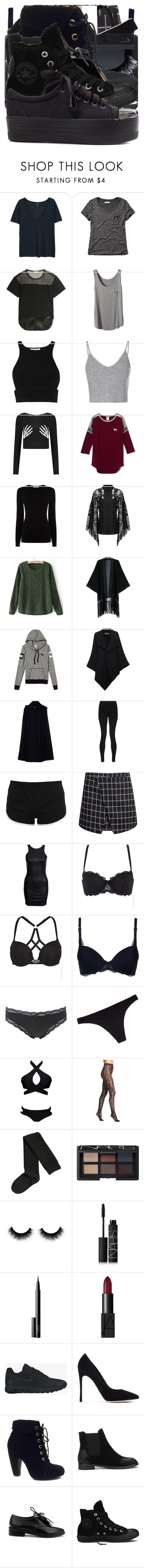 """Rose Potter"" by grandmasfood ❤ liked on Polyvore featuring MANGO, Abercrombie & Fitch, adidas, Jonathan Simkhai, Glamorous, Oasis, Elie Saab, Roland Mouret, Prada and Sweaty Betty"