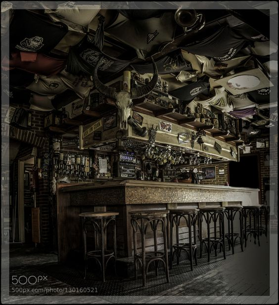 At the bar of the motor cafe by RenvanStormbroek #fadighanemmd