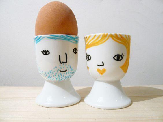 Eierbecher Tom & Pia