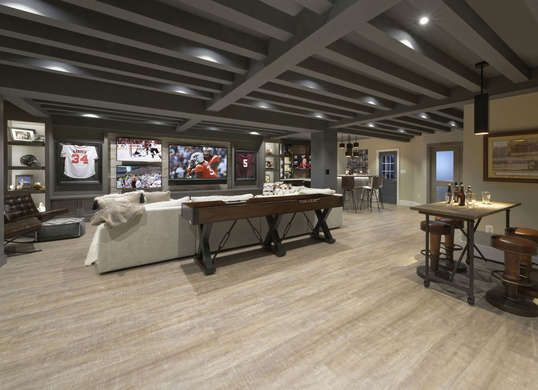 Beautiful Basements 13 Surprisingly Cool Underground Amenities In Real American Homes Basement Makeover Finishing Basement Basement Remodeling