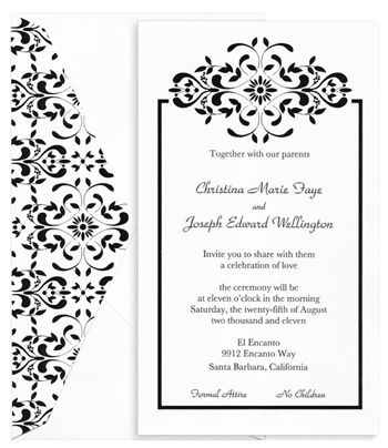 damask other ideas pinterest wedding invitation kits invitation