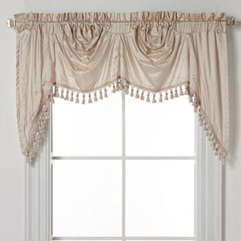 Curtains Ideas austrian valances curtains : United Curtain Co. Dupioni Silk Austrian Valance - 108'' x 30 ...