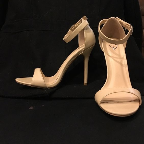 Nude strappy heels | D, Shoes heels and The o'jays