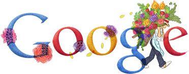 #Doodle publicado en #Google el 29 de julio de 2011 como conmemoración a la Feria de las Flores que se realiza en Medellín - Colombia. La primera Feria de las flores se realizó en Medellín el 1 de mayo de 1957.
