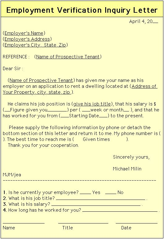 3 Day Eviction Notice Printable Agreement Pinterest Real - employment verification forms