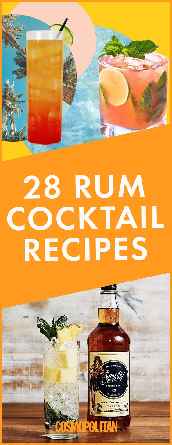 These Rum Cocktails Are *SO* Much Better Than a Rum and Coke