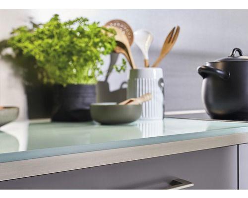 Kuchenarbeitsplatte Piccante A505 Glasgrun 4100x600x39mm Bei Hornbach Kaufen In 2020 Kuchenarbeitsplatte Kuche Sideboard Selber Bauen