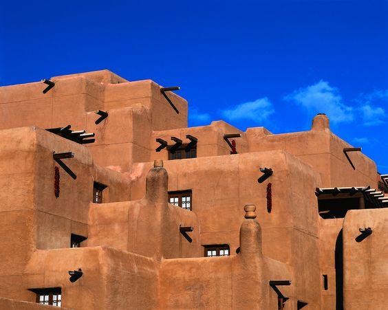 Adobe building~New Mexico