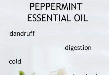 BENEFITS AND USES OF PEPPERMINT ESSENTIAL OIL FOR SKIN, HAIR AND HEALTH