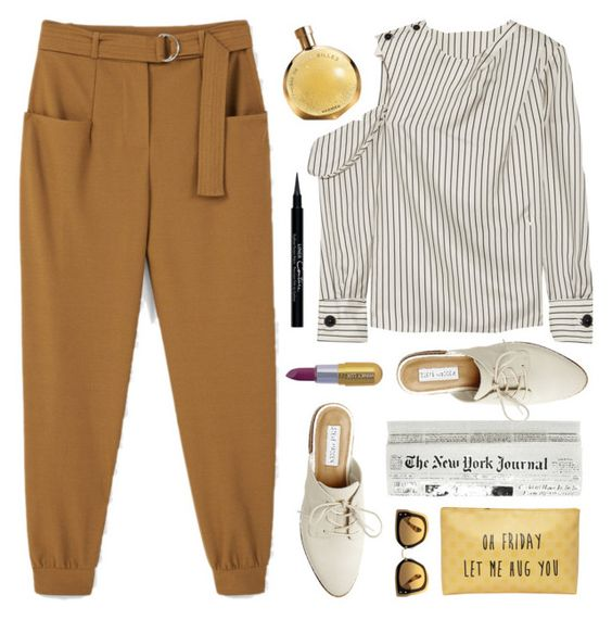 Oh Friday let me hug you! by celida-loves-pink on Polyvore featuring polyvore fashion style Monse MANGO Steve Madden Miu Miu Givenchy Winky Lux T-shirt & Jeans clothing ootd loafers Minimalist