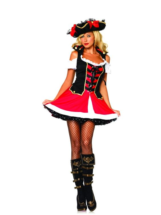 Leg Avenue Aye Aye Admiral Costume £36.99 : Direct 2 U Fancy Dress Superstore. http://direct2ufancydress.com/leg-avenue-aye-aye-admiral-costume-p-3057.html