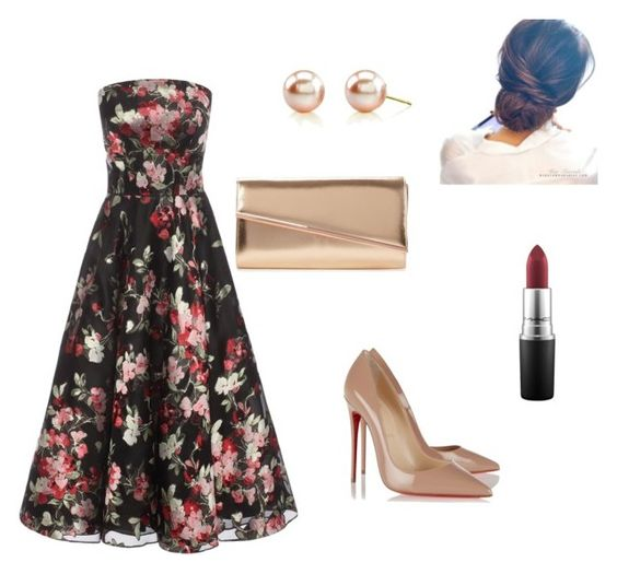 """""""Untitled #57"""" by mycatiscool ❤ liked on Polyvore featuring Alexander McQueen, Christian Louboutin and MAC Cosmetics"""