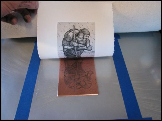 Christ the king sixth form college : HISTORY OF PRINTMAKING