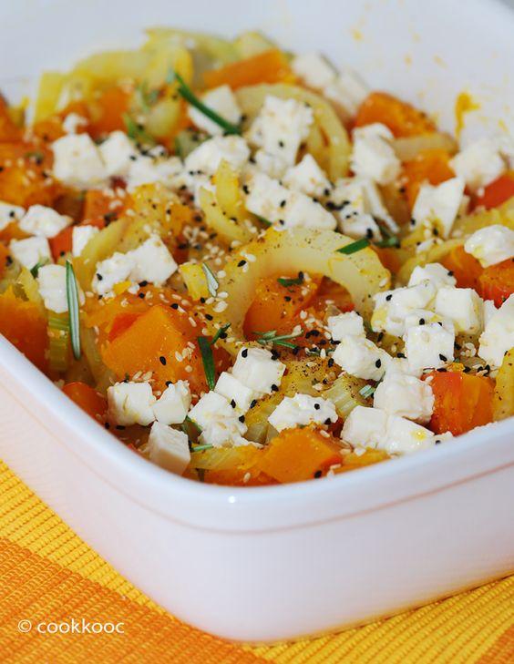 Überbackenes Fenchel-Kürbis-Gemüse ist ein wunderbares Herbst-Gericht mit vielen wärmenden Kräutern und Gewürzen. Besonders die gerösteten Schwarzkümmel- bzw. Sesamsamen in Verbindung mit ein paar ...