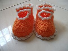 Ravelry: Mary Jane Baby Shoes pattern by L'Ana Banana Crafts