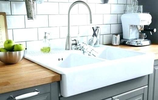 26++ Drop in apron kitchen sink model