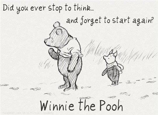 Image result for winnie the pooh thinking
