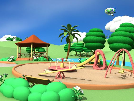 Cartoon Park Scene | west australian newspaper osborne ...