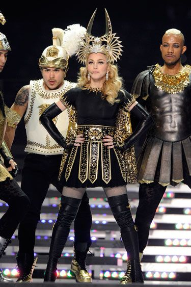 Best Style Moments of 2012 - Most Memorable Style Moments of 2012 - Madonna at the Superbowl