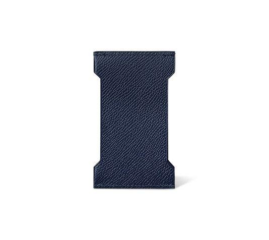 fake hermes birkin bags - Manhattan Hermes card holder in sapphire blue Epsom calfskin 3.9 ...
