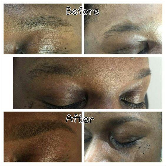 Eyebrow shape tint by Natasha C New York ny 917 952 5225