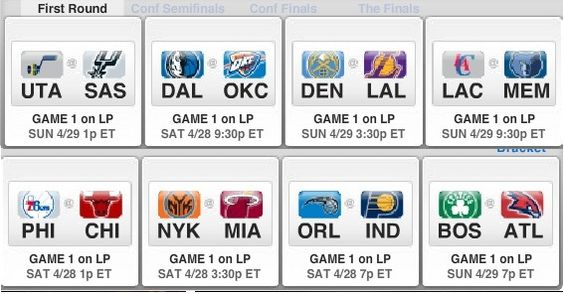 first two days of the #playoffs! Pretty intense #NBA