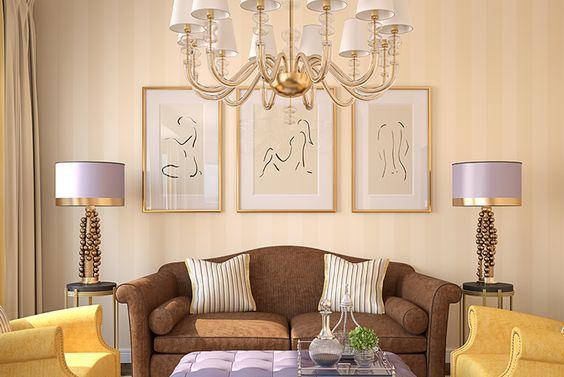 Te mostramos algunos puntos que te ayudarán a elegir los cuadros de tu sala y lograr la mejor decoración.