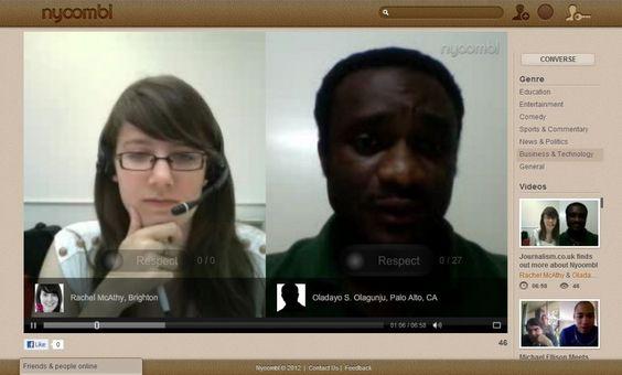 nyoombl - Un servicio que permite grabar y publicar las conversaciones en vivo  @Cdperiodismo
