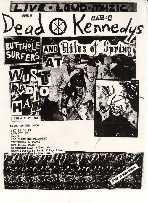 Dead Kennedys flyer