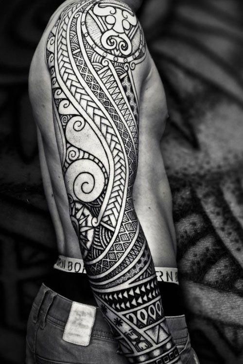Tribal Warrior Tattoos Best Tribal Tattoos For Men Cool Tribal Tattoo Designs And Id Polynesian Tribal Tattoos Tribal Tattoo Designs Tribal Tattoos For Men