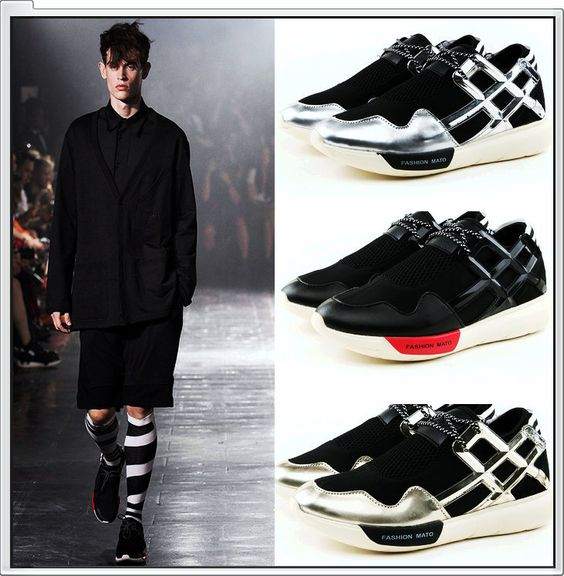 free shipping Y3 Sneaker New 2015 Hot Sale QASA High Men And Women Genuine Leather Sneakers Y-3 Lovers Shoes sneaker Wholesale
