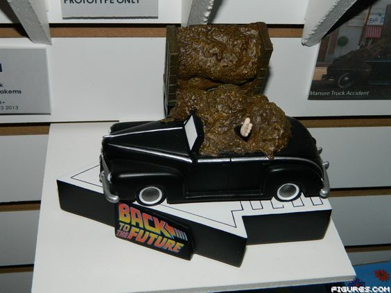 Back To The Future Prototype Toy From Factory Entertainment Biff