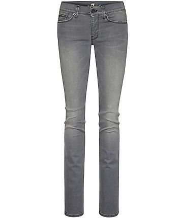 "7 for all mankind Jeans ""Straight Leg in New Toronto Grey""  #grey #denim #www.fashion.engelhorn.de"