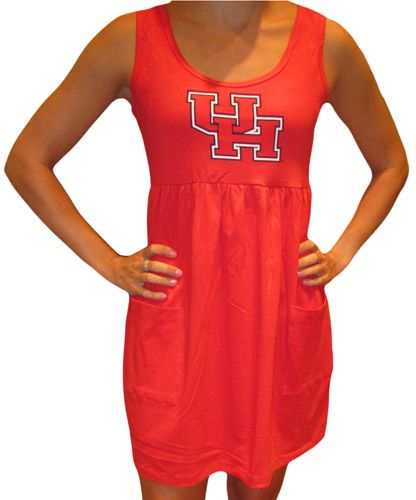 Ketch the Spirit, Game Day Boutique - University of Houston Tank Dress $49.00