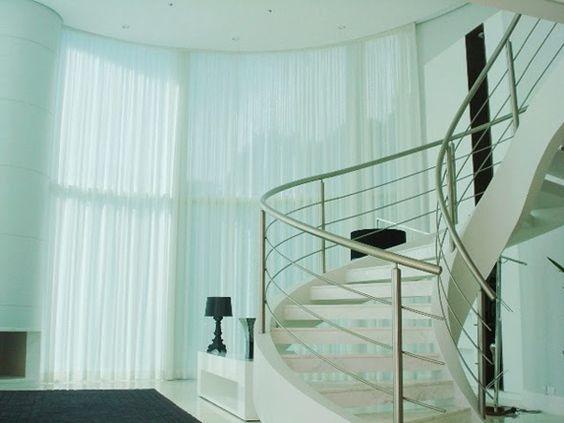 Decor Salteado - Blog de Decoração e Arquitetura : Cortinas – veja dicas, modelos, tecidos e ambientes decorados!