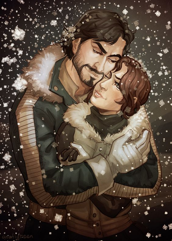 They are alive, happy and make it out to Hoth. And it's cold there, you know. Bye.