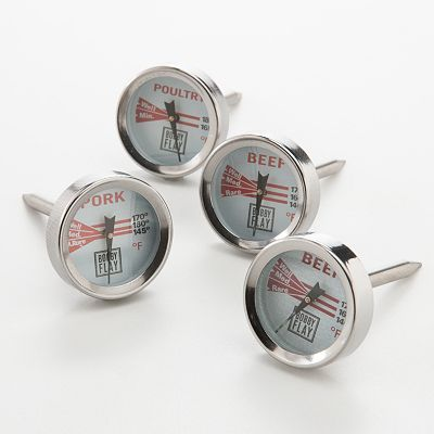 Bobby Flay 4-pc. Meat Thermometer Set