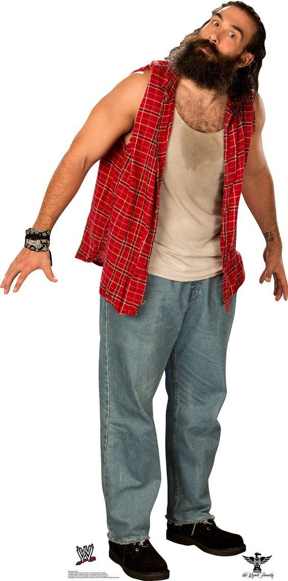 Wwe Luke Harper Cardboard Stand Up The Wyatt Family Wwe Wrestling Stars