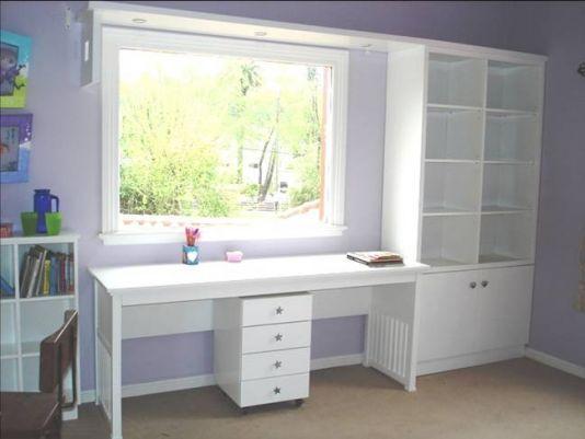 17 mejores im genes sobre escritorios para ni as mesas - Estanterias para habitacion nina ...