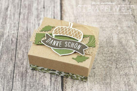 Herbstliche Verpackung für Küsschen – inkl. Anleitung