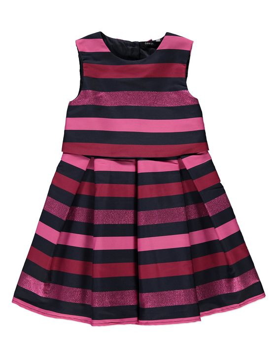 Striped Dress, read reviews and buy online at George. Shop from our latest range in Kids. Give them the perfect winter dress this season with this beautiful ...