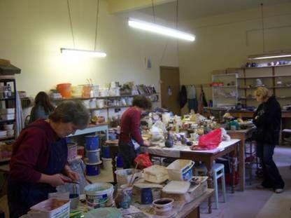 Jane Kelly's Penicuik Pottery summer schools