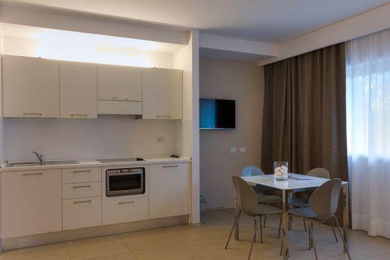 cucina suite familiare bilocale