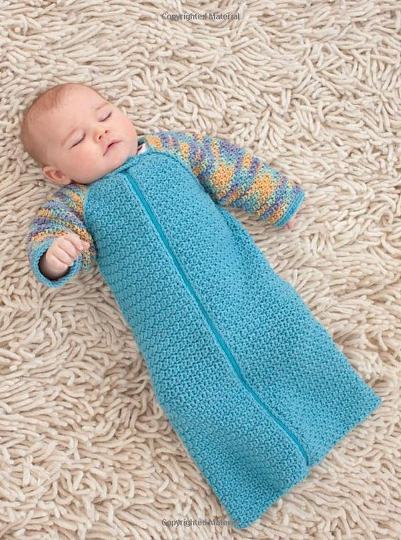 Crochet Patterns For Baby Sweater Sets : Crochet Sleep Sack...LOVE! Projects I Want to Complete ...