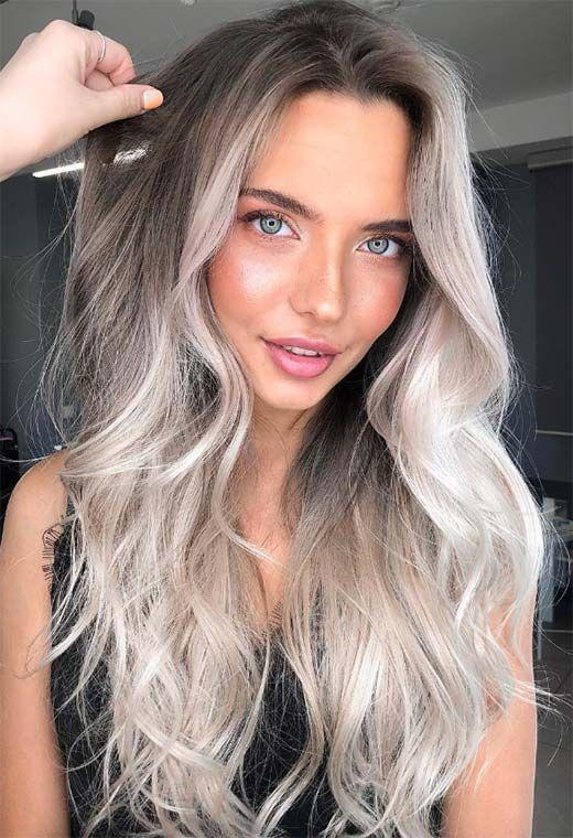 63 Cool Ash Blonde Hair Color Shades Ash Blonde Hair Dye Kits To Try Ash Blonde Hair Colour Blonde Hair Shades Silver Blonde Hair