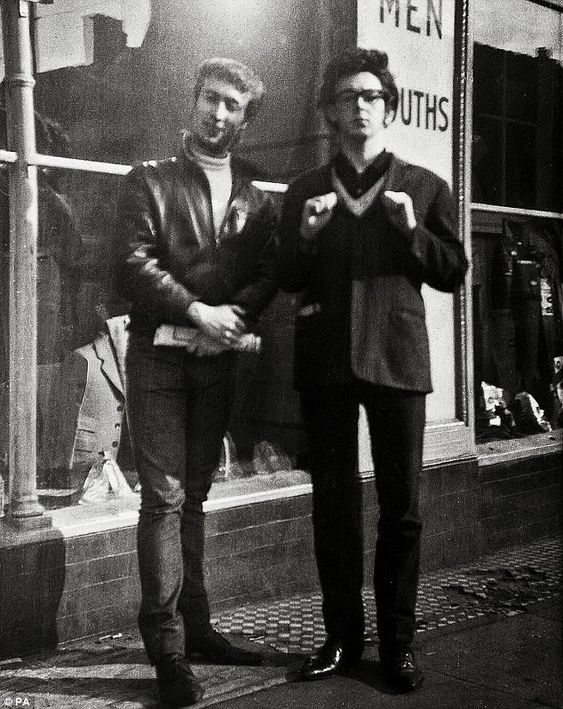 If you were at the Fox and Hounds pub in Caversham, Berkshire, UK on April 23, 1960, you could have seen the first of only 2 performances ever by The Nerk Twins. The Nerk Twins were actually John and Paul! ~From the College of Rock And Roll Knowledge