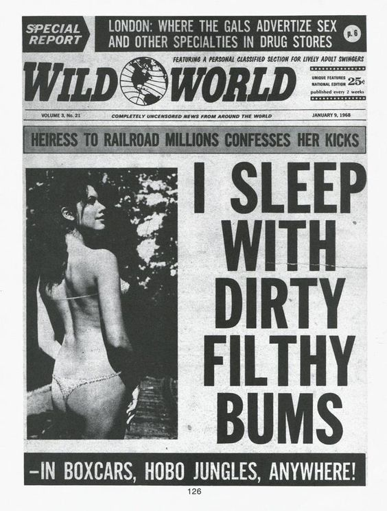 I Sleep With Dirty Filthy Bums