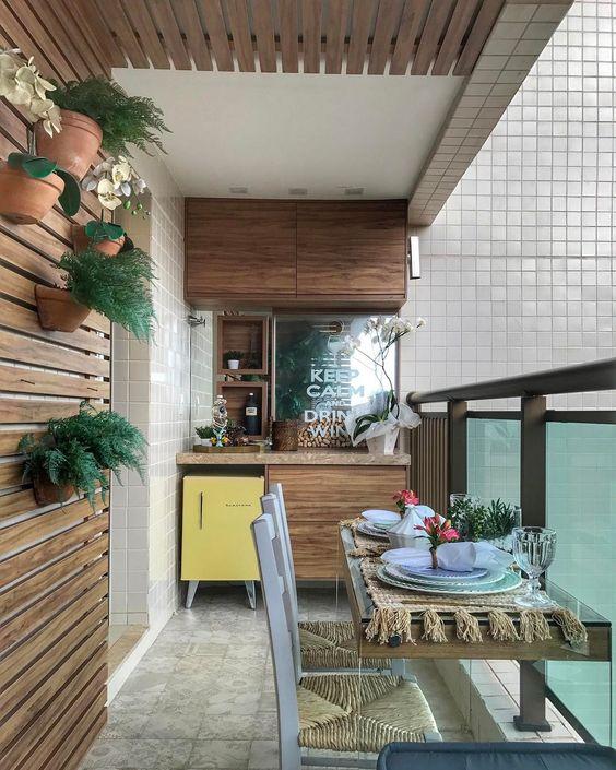 Varanda gourmet: 110 espaços diferentes para você se inspirar