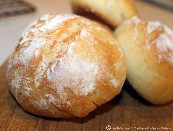 OMG! I have been looking for a recipe for YEARS!!! - Cooking With Mary and Friends: German Brötchen
