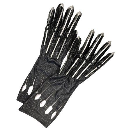 2018 Black Panther Claws Gloves Cosplay Superhero Halloween Handmade Gloves New